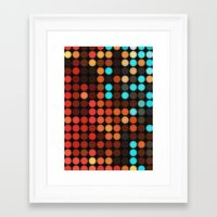 disco Framed Art Prints featuring Disco by DuckyB
