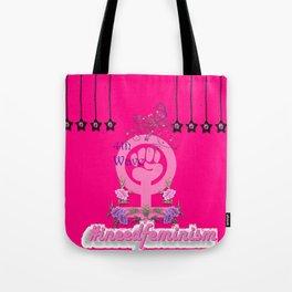 #INeedFeminism - 4th Wave Bloom Tote Bag