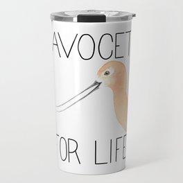 Avocet for Life (American Avocet) Travel Mug