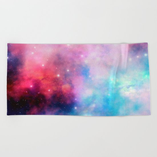 Intertstellar cloud Beach Towel