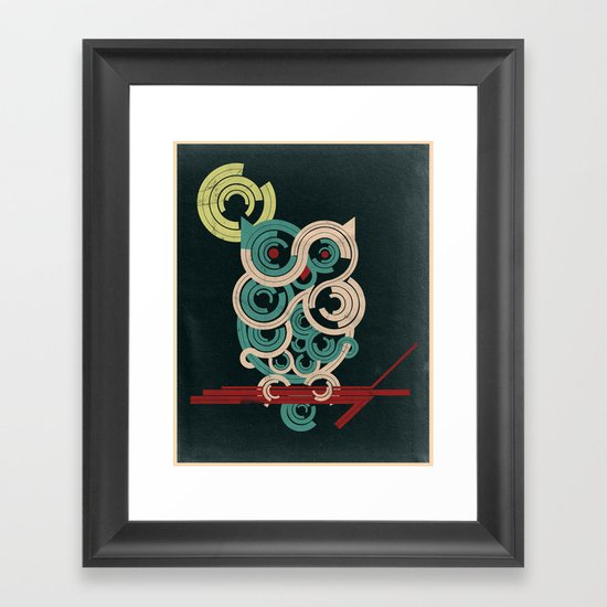 Oh Well Framed Art Print