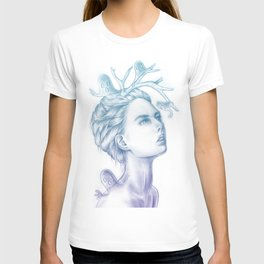 Shadows of My Soul (A Portrait of a Life's Lingering Past) T-shirt