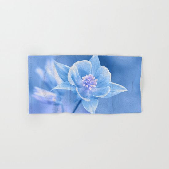 Columbine Flower 161 Hand & Bath Towel