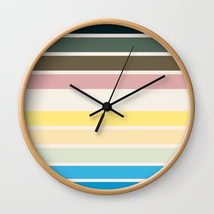 The colors of - Nausicaa Wall Clock