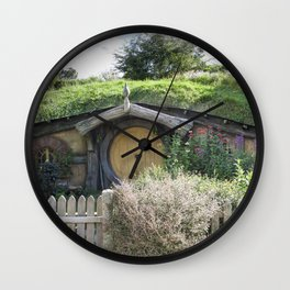 House of little People Wall Clock