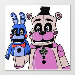 Funtime Freddy & BB Canvas Print