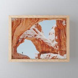 Arches National Park / Utah Framed Mini Art Print