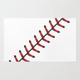 Baseball Lace line Rug