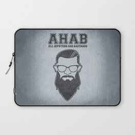 ALL HIPSTERS ARE BASTARDS - Funny (A.C.A.B) Parody Laptop Sleeve