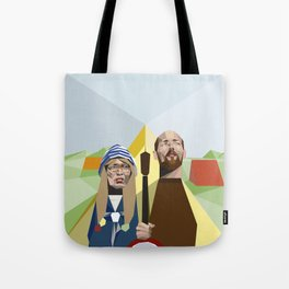 Nuts in May (West Country Gothic) Tote Bag