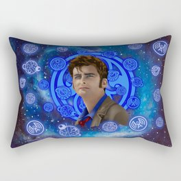 Doctor Who 10th generation Rectangular Pillow