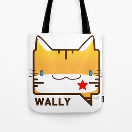Convo Cats! Wally Tote Bag