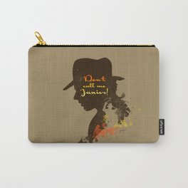 Don't call me Junior! – Indiana Jones Silhouette Quote Carry-All Pouch