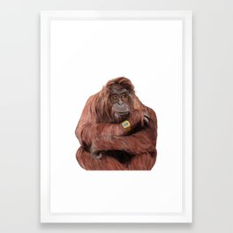 Hutan Framed Art Print