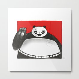 What if Baymax was Kung fu Panda Metal Print