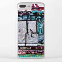 Making Your Mark on the Williamsburg Bridge Clear iPhone Case