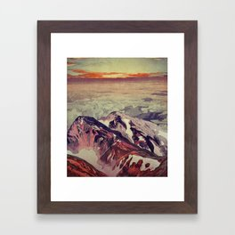Victory the Climb Framed Art Print