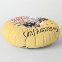 Enjoy San Fransokyo Floor Pillow
