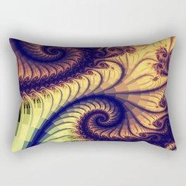 Abstract spirals and patterns Rectangular Pillow