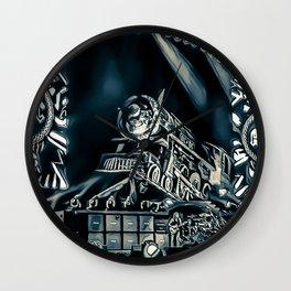 Runaway Train - Graphic 2 Wall Clock