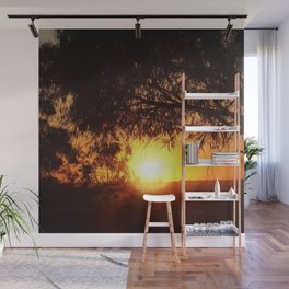Sunset Silhouettes | Beautiful Nature Wall Mural