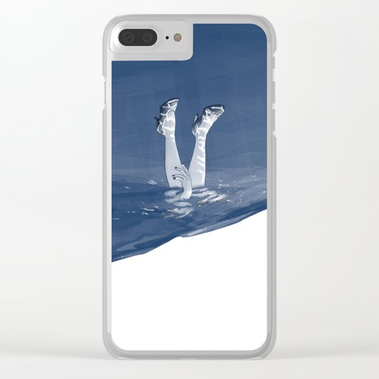 Windy day - #2 Clear iPhone Case