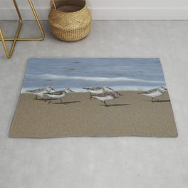 wave runners Rug