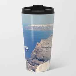 Greek Paradise Travel Mug