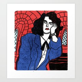 Veronica Sawyer Art Print