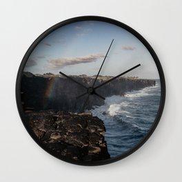 Hawaii Volcanoes National Park Wall Clock