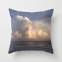 Sunset Party Throw Pillow