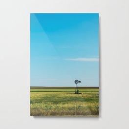 Kansas Skyline Metal Print