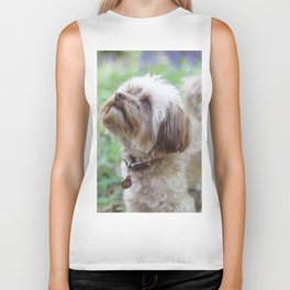 Walkies in the woods Biker Tank