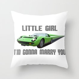 Miura Throw Pillow