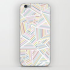 Ab Linear Rainbowz iPhone & iPod Skin