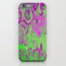 Pink and green  iPhone 6s Slim Case