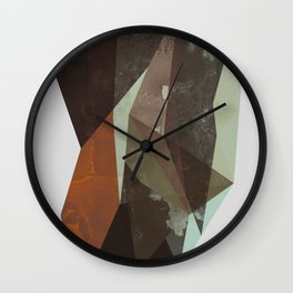 Rock Wall Clock