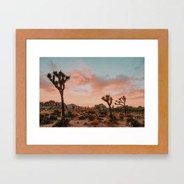 Joshua Tree IX / California Desert Framed Art Print
