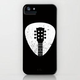 Rock pick iPhone Case