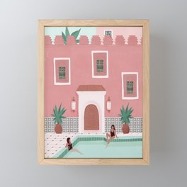 Marrakech Framed Mini Art Print