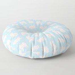 Samoyeds Print Floor Pillow