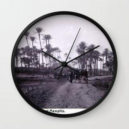Landskap mellan Badrashin och Memfis Wall Clock