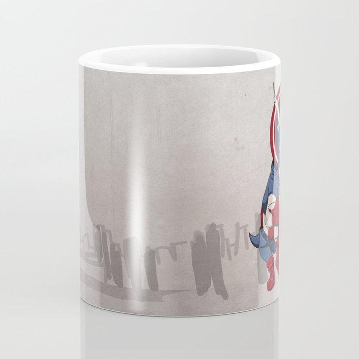 Captain Ameritops - Superhero Dinosaurs Series Coffee Mug