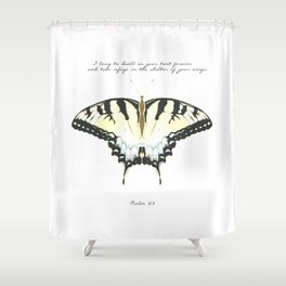 Psalm 61:4 Shower Curtain
