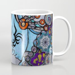 Alien Maya Elf by Alexandra Cook aka Linandara Coffee Mug