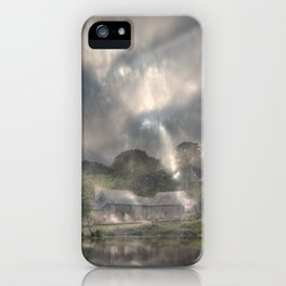 She Emerged From the Gloom iPhone Case
