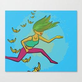 Electric Griot: Leap Canvas Print