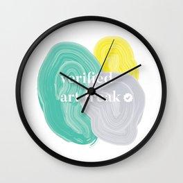 Verified Art Freak Wall Clock