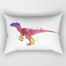 Velociraptor Rectangular Pillow