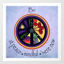 Peace Within Without Art Print